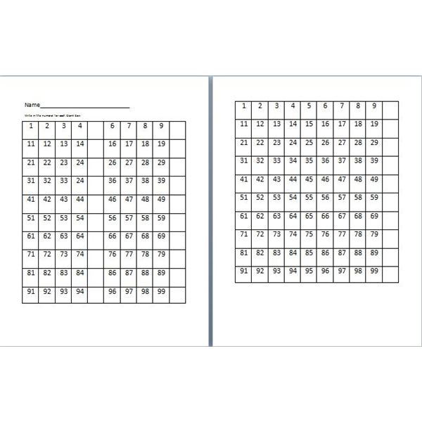 Creative Worksheets to Teach to Count by 5s and 10s