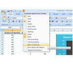 Open Quick Access Toolbar