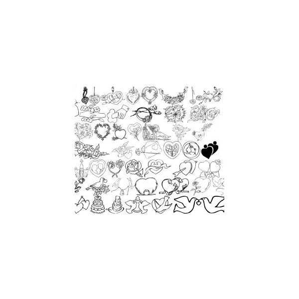 Top 10 Free Wedding Dingbats Amp Fonts Best Free Images For