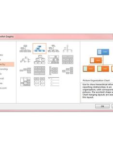 Figure smart art also how to create an organizational chart in powerpoint diy rh brighthub