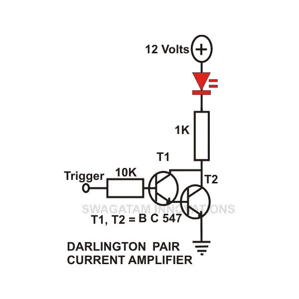 Npn Transistor Current Amplifier Circuit