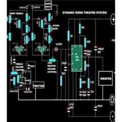 Circuit Diagram Of Home Theater Upper Arm Muscle Human How To Build A System Included Image