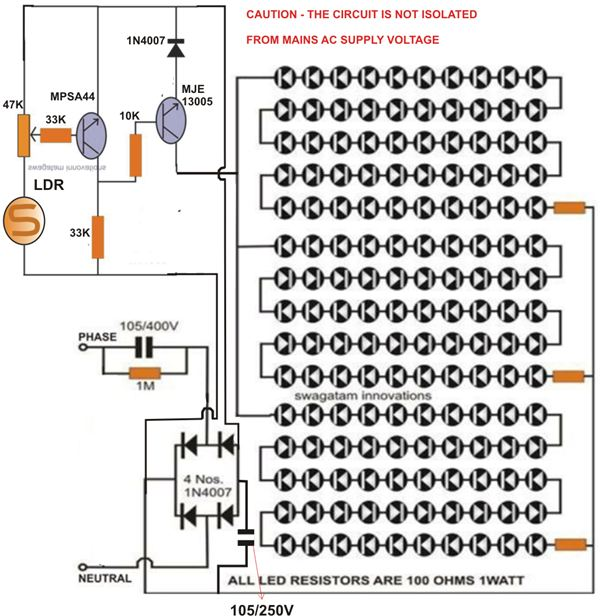 Wiring Diagram Of An Led Bulb Wiring Diagrams