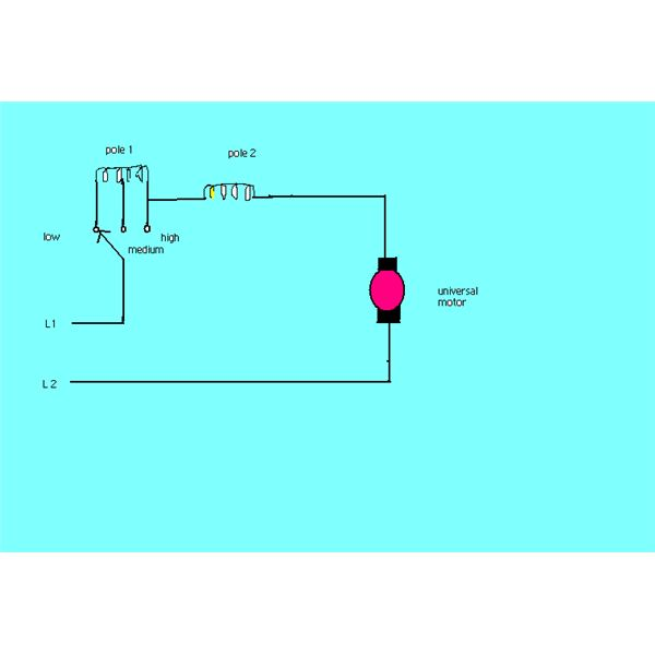 universal motor wiring diagram lester 36 volt battery charger how speed of a electric is controlled tapping field method control