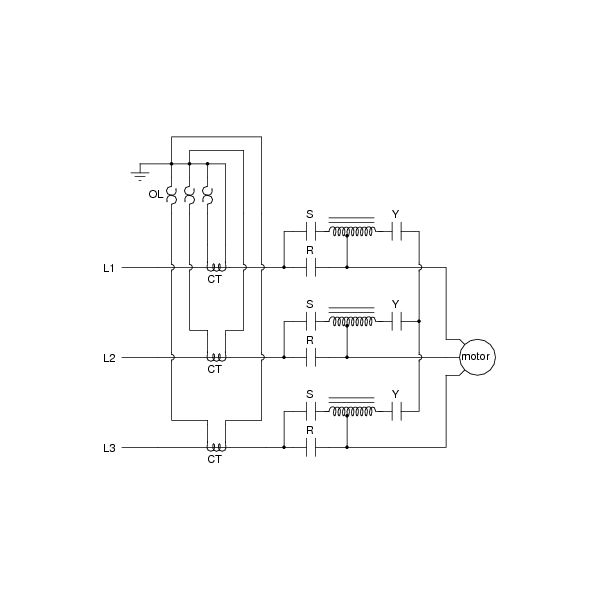 3 phase autotransformer wiring diagram fender induction motor starting methods auto transformer starter with circuit