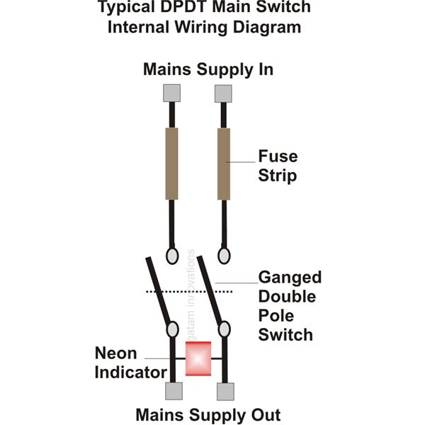 spst switch wiring diagram delco am fm radio help for understanding simple home electrical diagrams dpdt image