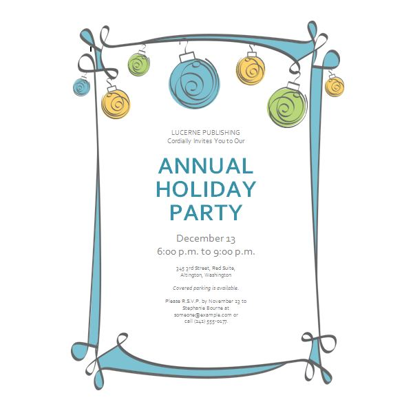 Baby Shower Invitations Word Templates