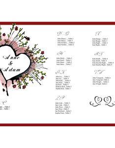 Azseatingchartimage also tips on creating  wedding seating chart free sample template for rh brighthub