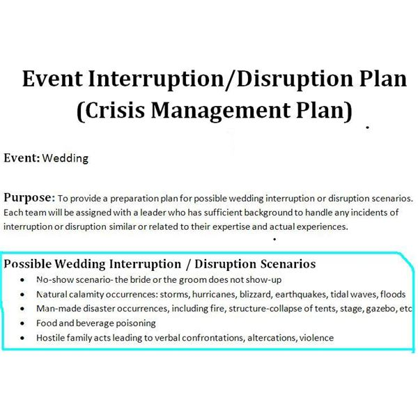 Crisis Management Plan Template  Free Download