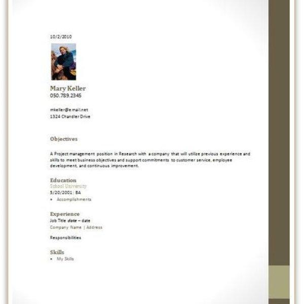 Resume Cover Letter Basics - Cover Letter Templates