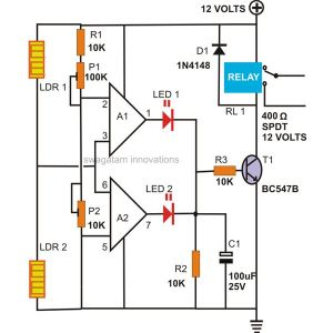 How to Make a Motion Detector Alarm Circuit