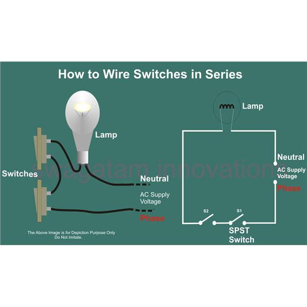 Wiring A Switch In A Series
