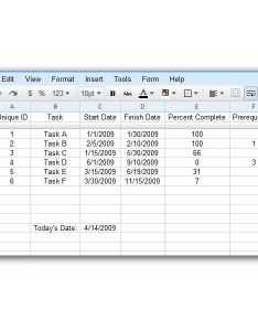 Sample table with gantt chart data also how to create  in google docs spreadsheet archived rh brighthubpm