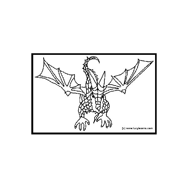 Five Sites for Dragon Printable Coloring Pages