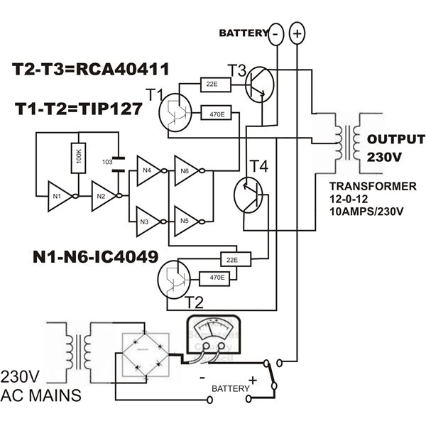 also simple dc to ac inverter circuit diagram as well as dc to ac