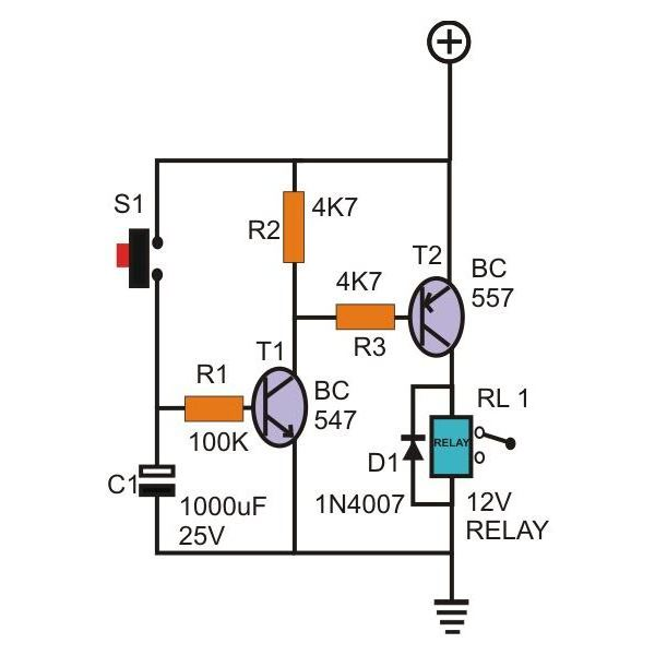 electronic delay circuit