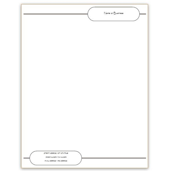 Six Free Letterhead Templates for Microsoft Word: Business