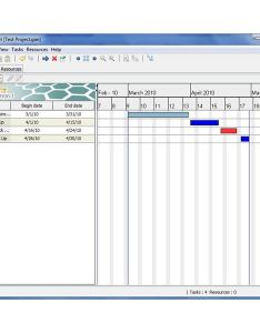 One nice free gantt chart creator is ganttproject although it may take some time to learn how get the most out of this tool comes with  also creators scheduling tools that support rh brighthubpm