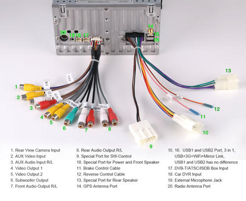 2010 Toyota Camry Radio Wiring Harness Diagram In Car Entertainment Toyota Hilux And Fortuner Gps Dvd