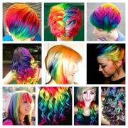 hair colourants & dyes - bright neon