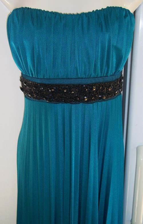 Formal Dresses  Truworths GLAMOUR Turquoise Evening Gown  Size 38  New  was sold for R205