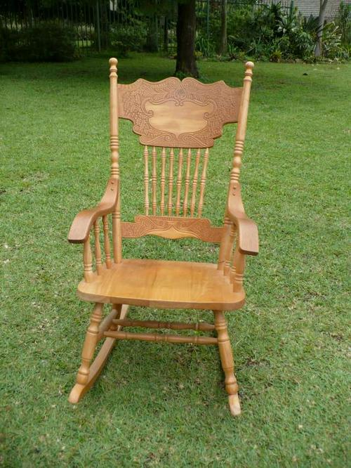 Chairs Stools  Footstools  COLONIAL ROCKING CHAIR HIGH