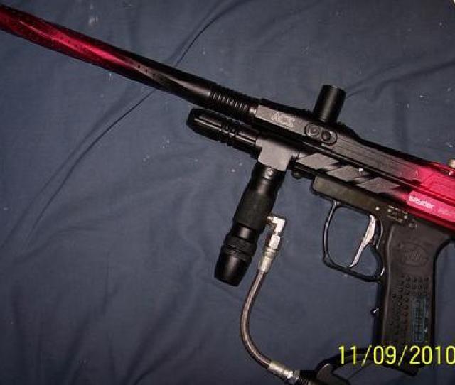Kingman Spyder Pilot Acs Electric Paintball Gun Marker