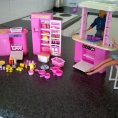 Barbie Kitchen Playset Home Styles Americana Island Vintage Toys Original Play Set 1992 Made By Mattel 7472 Includes Ken 1983 And 1976
