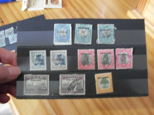 Union of South Africa - SA STAMPS WITH CUSTOMS DUTY /DOUANE OVERPRINTS IN RED AND BLACK was sold for R71.00 on 3 Mar at 21:01 by artlu in ...