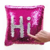 Cushions - Mermaid Sequence color changing pillows was ...