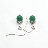 Earrings - May birthstone Aventurine earrings on 925 ...