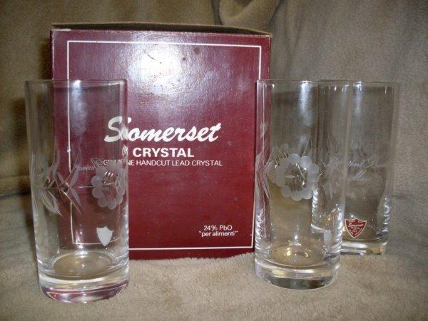 Drinking Glasses & Stemware - SOMERSET CRYSTAL - Lead ...