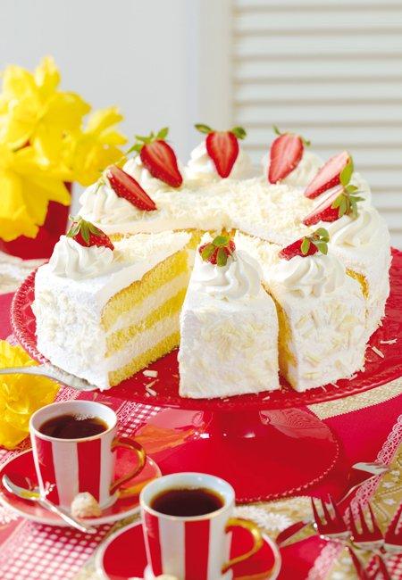Biskuit torte durchschneiden  Appetitlich FotoBlog fr Sie