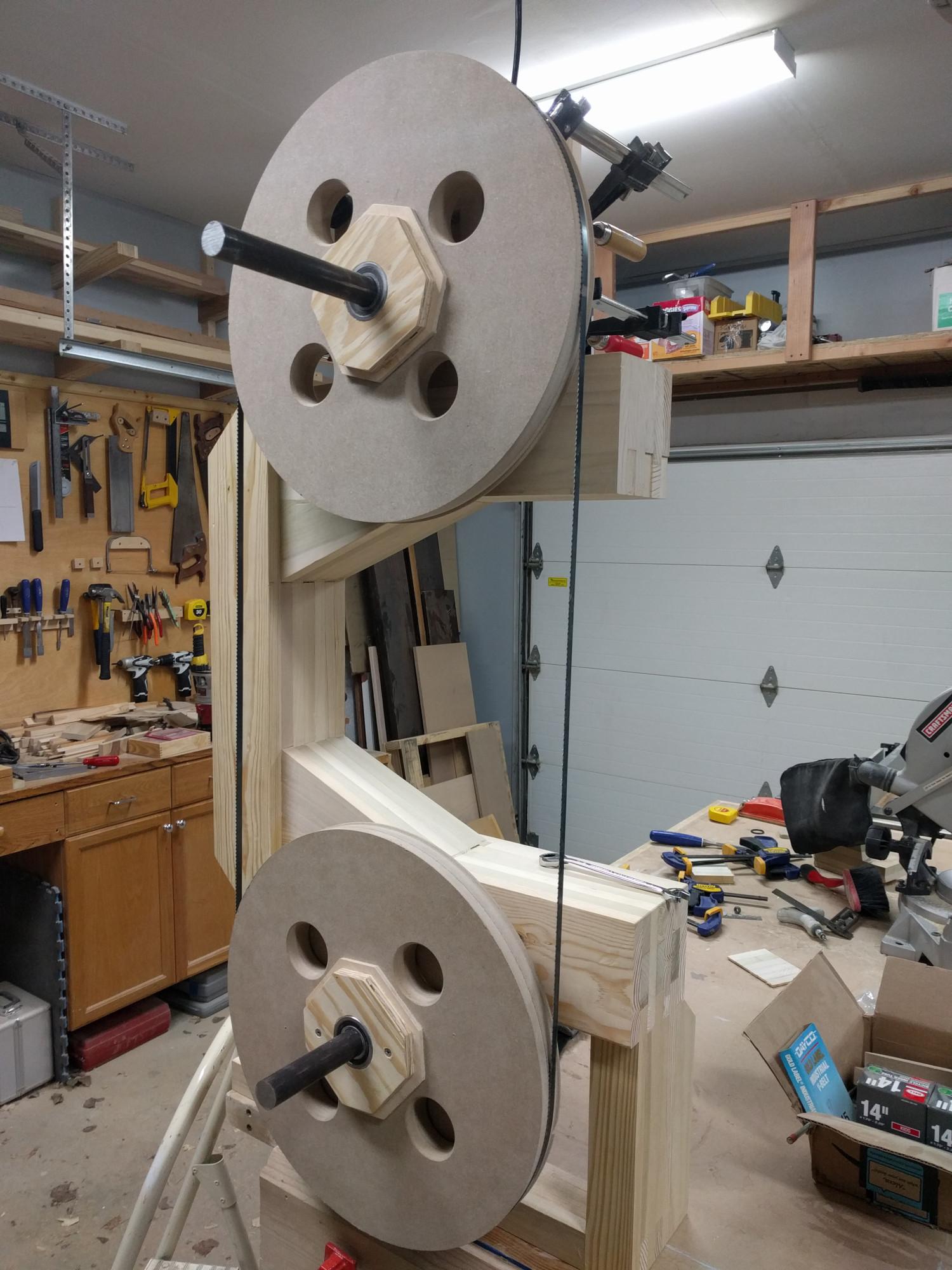 Bandsaw Pulley Wheels