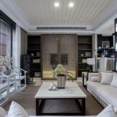 Kitchen Deco White Granite Countertops 新中式风格室内装饰设计效果图 - 家居装修知识网