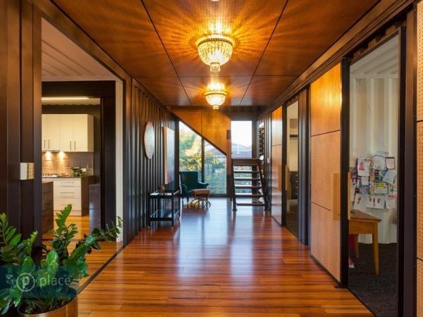 backyard kitchen designs rehab 几何与线条 澳大利亚集装箱别墅 - 家居装修知识网