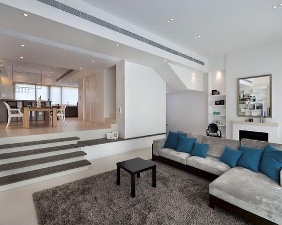 空间加减法 20个下沉式客厅设计