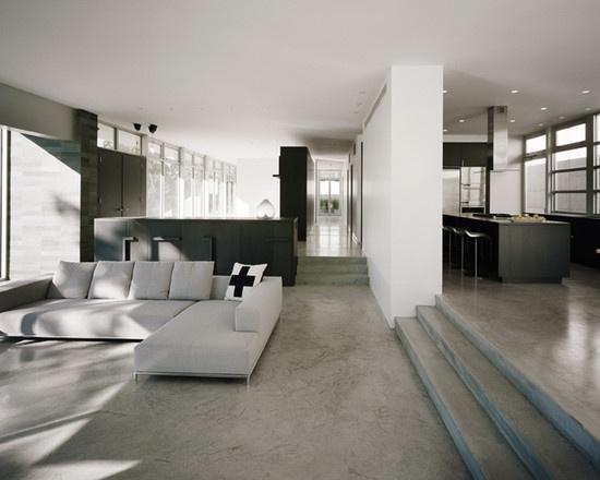 空间加减法 20个下沉式客厅设计 家居装修知识网