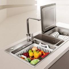 "Best Kitchen Sink Polished Nickel Faucet 方太水槽洗碗机 为你的厨房""梦工厂""改造助攻 - 家居装修知识网"