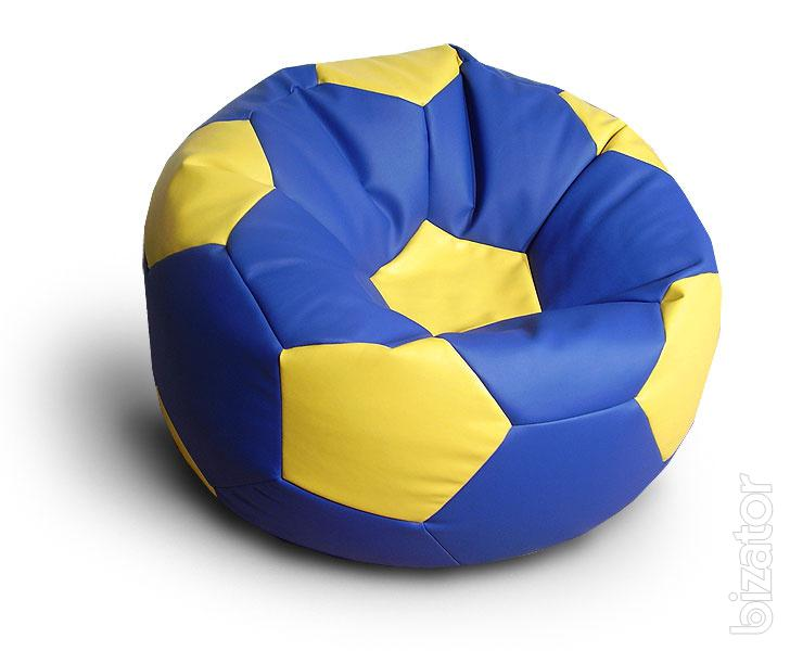 Chairs that surprise The soccer ball chair Ottoman pear
