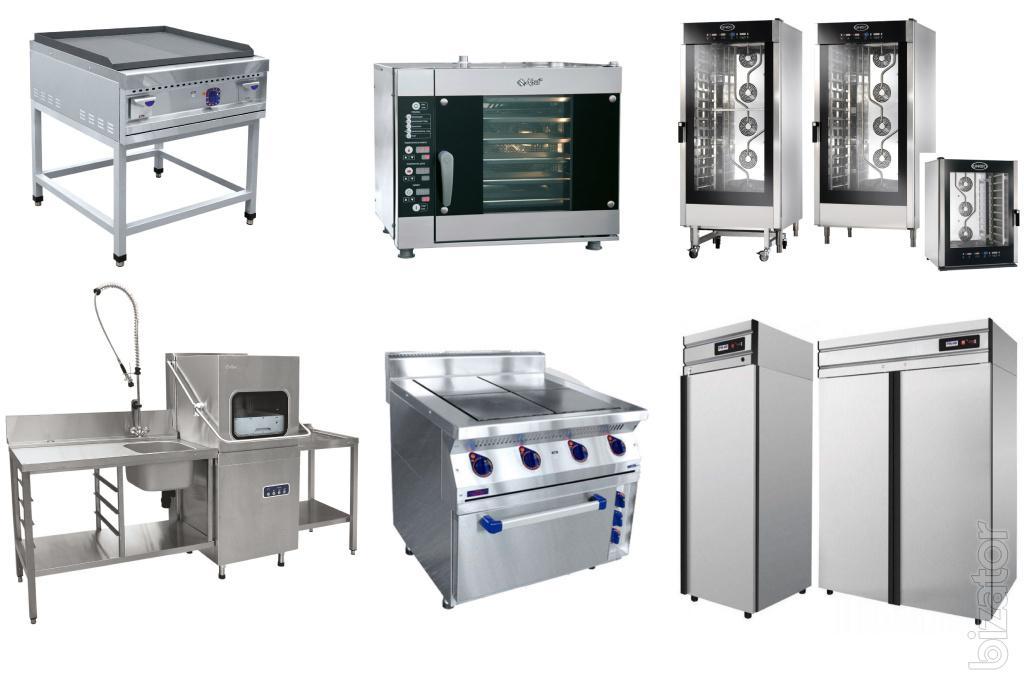 Kitchen equipment for HoReCa pizzeria dining catering