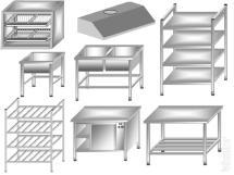 neutral equipment. stainless steel