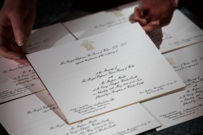 Royal Wedding Invites See What