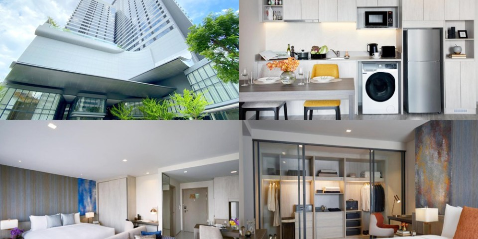 【ASQ入境泰國隔離住宿】Somerset Rama 9 Bangkok 盛捷拉瑪9 五星級飯店:16 天 15 夜隔離住宿套餐