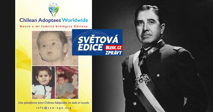 Pinochet sold the children of poor Indians.