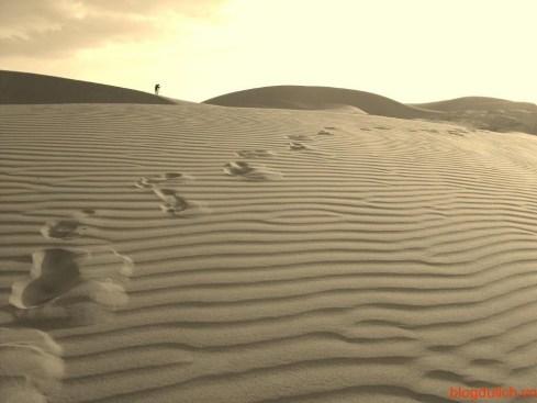 Những đồi cát vàng đặc trưng của Mũi Né