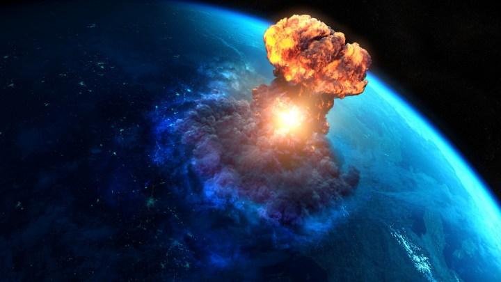 El impacto de un asteroide