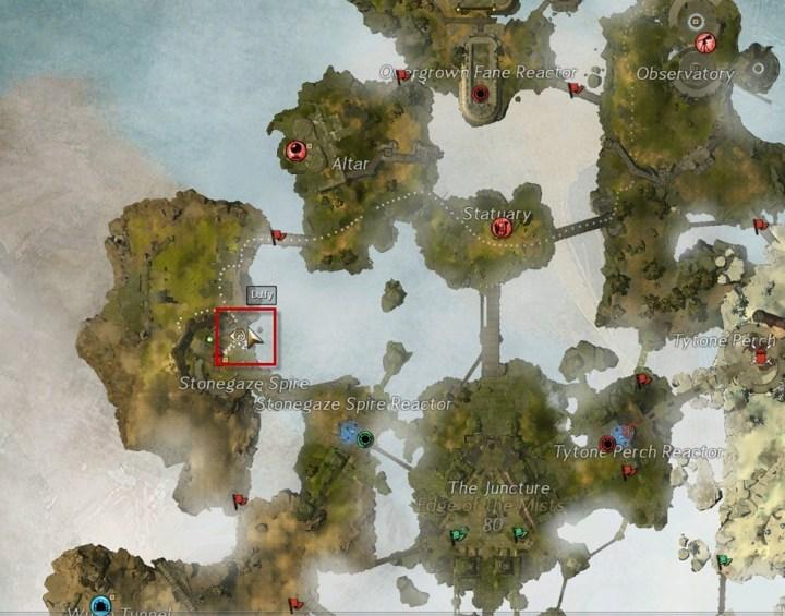 Guild Wars 2 puentes edge of the mist