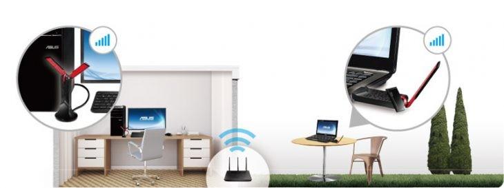 Transforma tu WiFi en 5G con un adaptador antena USB