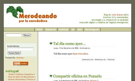 diseño merodeando 2004-2006